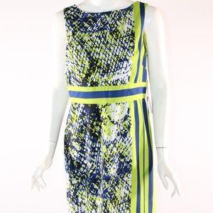 Adrianna Papell Size 10 NWT Stripe Print Dress